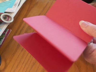 Craft Fair Tutorial: How to make a Gift Card Tin  Mini Photo Holders