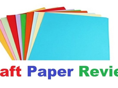 Craft Paper Review in Hindi - From Where to buy? Uses, Quality, Price | #TukkuTV