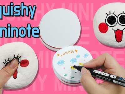 DIY) Character Squishy Notebook Tutorial  Easy and Fun Memory Foam Craft