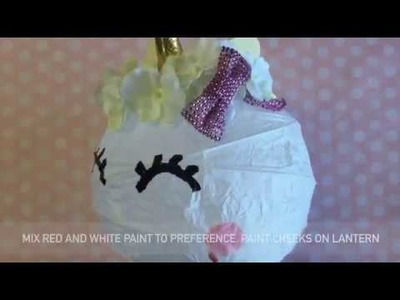 DIY - Do It Yourself Magical Unicorn Lantern - How to Craft Tutorial