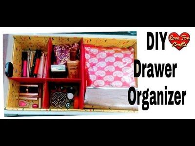 DIY - Drawer Organizer | How to Make a Cardboard Drawer Organizer