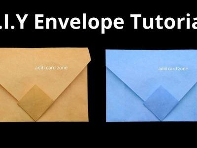 Diy envelope   Diwali envelope   How to make an envelope  