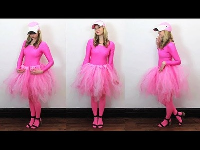 DIY Flamingo Costume for Halloween