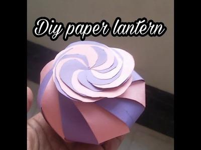Diy lantern idea | simple paper craft in hindi |festival decoration
