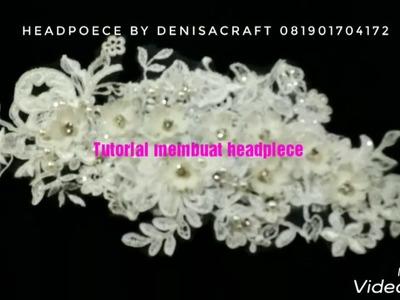 DIY || TUTORIAL MEMBUAT HEADPIECE | HOW TO MAKE HEADPIECE