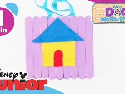 Doc McStuffins | Craft Tutorial: Doc's In Sign | Disney Junior UK