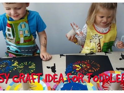 EASY CRAFT ACTIVITY FOR KIDS | TODDLER CRAFT IDEA