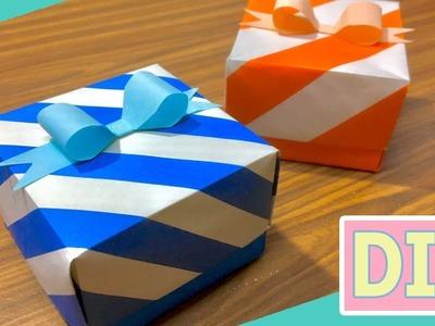 Easy DIY Gift box . Paper box #2 tutorial