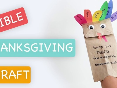 Easy Kids Thanksgiving Turkey Craft - Bible Time