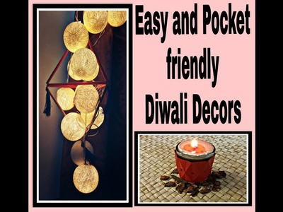 Easy Last-minute and Pocket-Friendly DIY Diwali decors