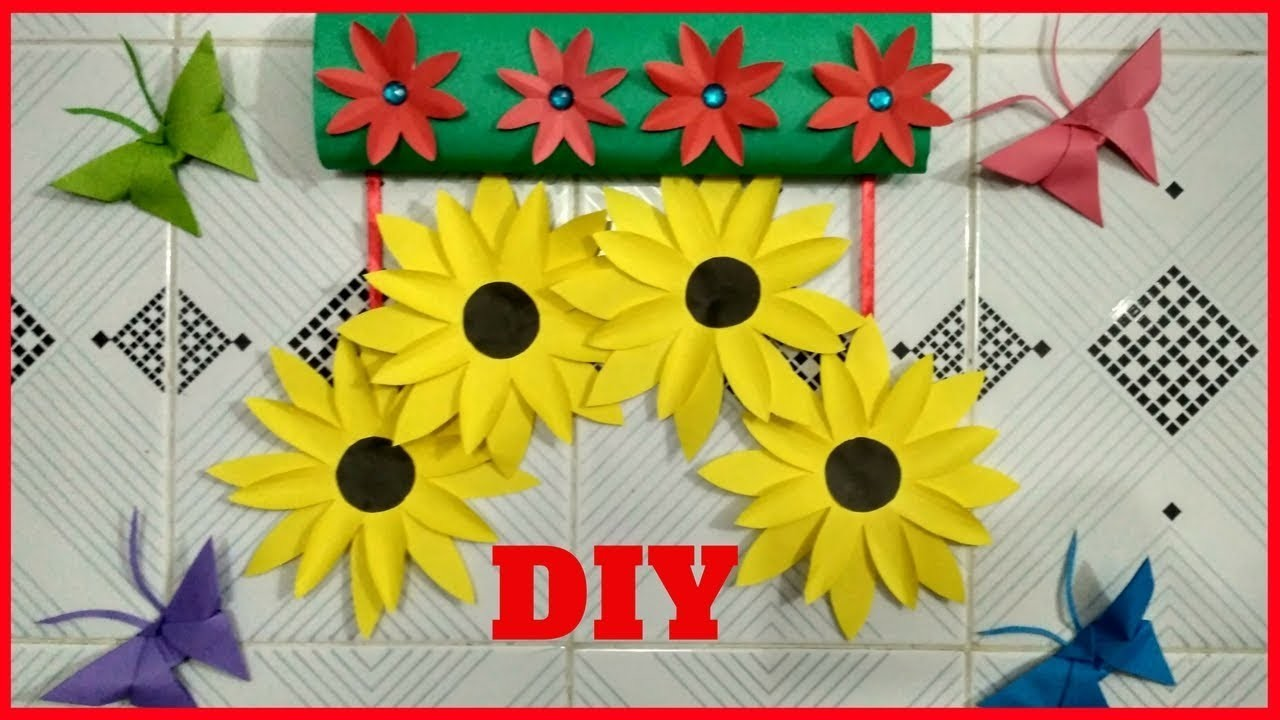 Easy wall hanging craft ideas - How to Make a DIY Room Decor Using ...