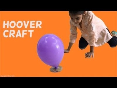 Hoover Craft using CD - Home easy DIY projects