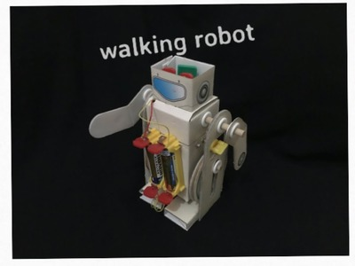 How to assemble-SCIENCE CRAFT WALKING ROBOT