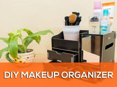 How to Assemble the DIY Wooden Makeup Organizer From Lazada