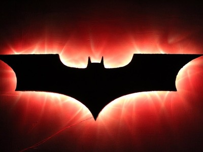 How To Make A Batman Lamp | DIY Craft For Children