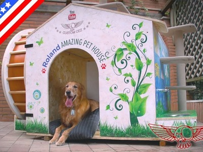 How to make an amazing DIY dog house and cat jungle gym with plans - ep01 - Roland Master Maker