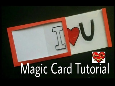 How to Make Magic Card | Magic Card Tutorial | DIY - Valentine's Day Card