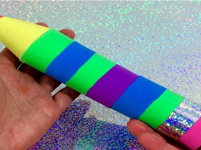 How To Make Multicolor Pencil With Kinetic Sand Art Craft For Kids