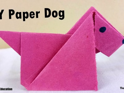 How to make Paper Dog | DIY Paper Craft