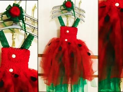 How to Make Tutu Dress   DIY Tutu Dress