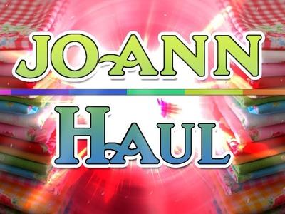 Joanns  Craft supplies Haul October 24 2017