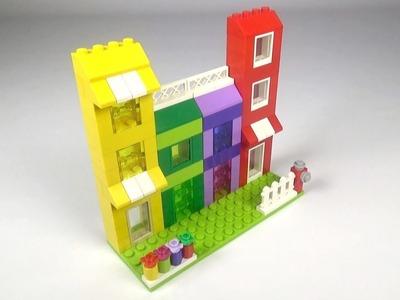 Lego Apartment (001) Building Instructions - LEGO Classic How To Build - DIY