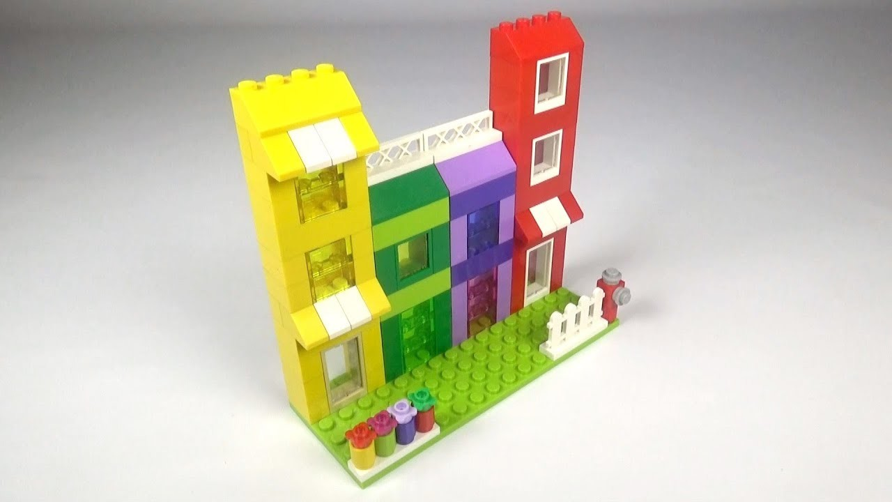 Lego Apartment (001) Building Instructions - LEGO Classic How To Build - DIY