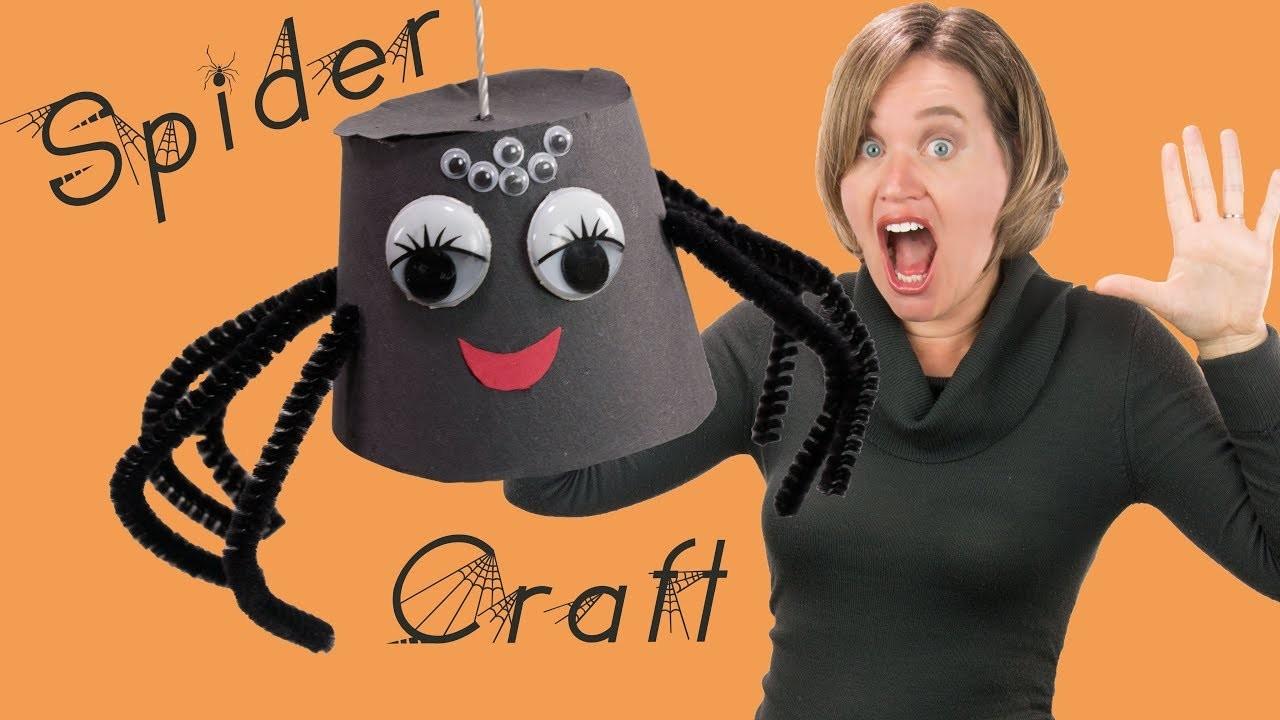 Make a Creepy Spider | DIY Craft for Kids