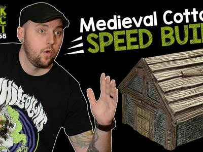 Medieval Cottage For D&D Tutorial (Black Magic Craft Episode 058)