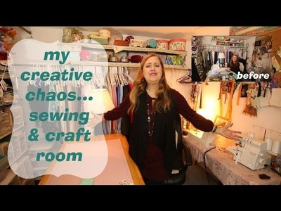 My Sewing & Craft Room Declutter and Tour