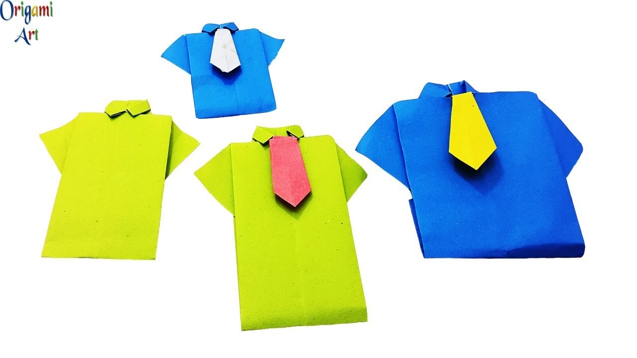 Origami Shirt Tutorial Labzada T Link Instructions By Wakeangel2001 On Deviantart And Tie Easy Diy Paper