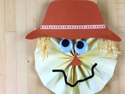 Paper Scarecrow Craft