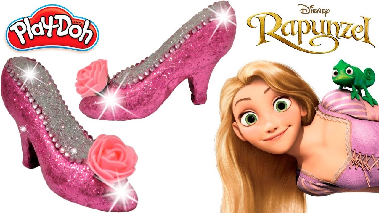 d2ad876ada7 Play Doh Super Craft Making Colorful Rapunzel Disney Princess Super ...