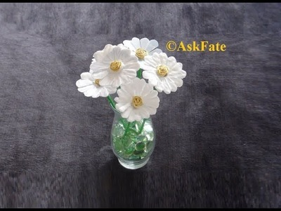 Recycled Plastic Containers into Daisy Flowers - DIY Craft