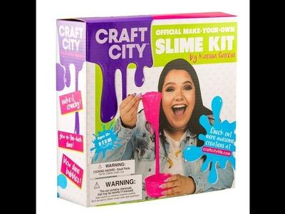 Testing Out Karina Garcia's Craft City Slime Kit