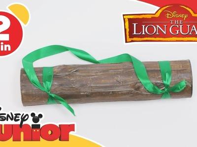 The Lion Guard | Craft Tutorial: Log Shaker | Disney Junior UK