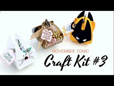 Tonic Inspiration - Tonic Monthly Craft Kit 3 - Bibi Cameron