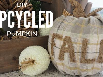 Upcycled Pumpkin DIY