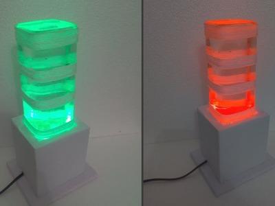 Waste bottle craft | make a bottle light | bottle crafts | night lampshade | DIY ROOM DECOR