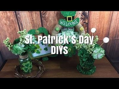 4 St. Patrick's Day DIY (Dollar Tree)