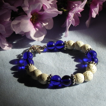 Aromatheraphy Beaded Bracelet
