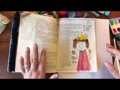 Bible Art Journaling | How to find creative inspiration