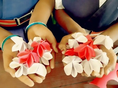 Craft Creativity|| Paper Blossoms||
