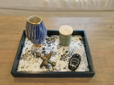 DIY Decorative Tray Perfect for Any Room
