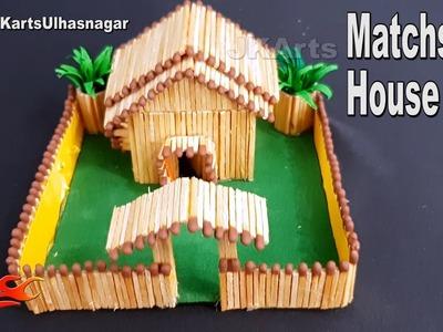 DIY How to Make a Match House | JK Arts1355