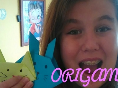 DIY Origami Cat ???? and Bunny ????