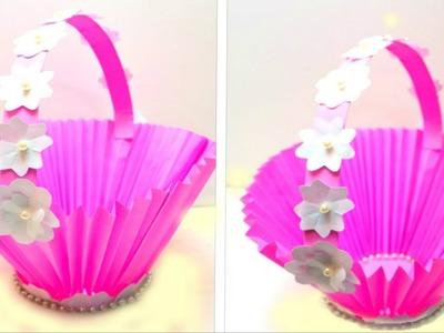 DIY Paper Basket  | How To make a Paper Basket For Easter | EMMA DIY #35