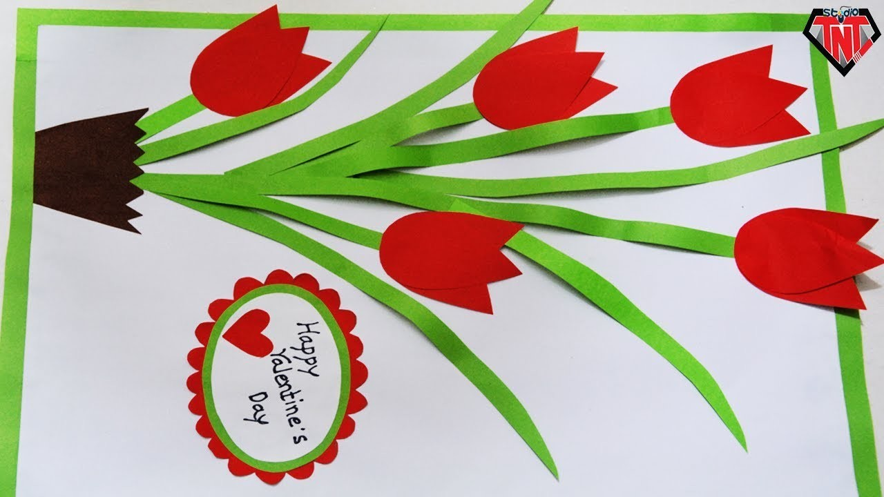 DIY Paper Wall Hanging    How To Make Paper 3D Wall Mate    Valentine Special