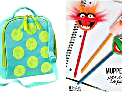 DIY School Supplies! 10 Weird DIY Crafts for Back to School with DIY Lover!