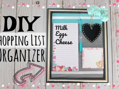 DIY Shopping List | Fridge Organizer | Grocery List